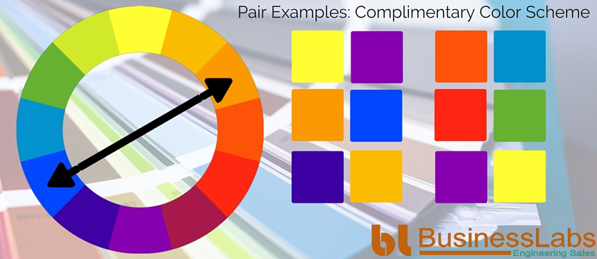Illustrating Complimentary Color Scheme in Color Psychology